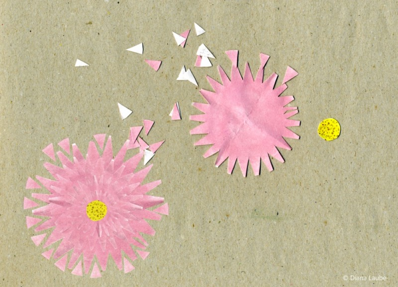 Scherenschnittblumen
